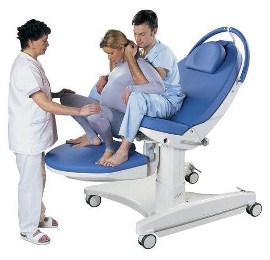 Технические характеристики родильной кровати AVE